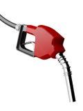 Rote Gas-Düse Stockfotos