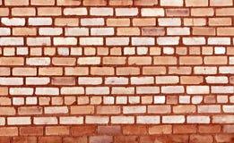 rote getonte alte Backsteinmauerbeschaffenheit Stockfoto