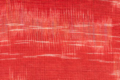 Rote Gewebebeschaffenheit Stockbild