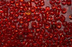 Rote Glaskorne Stockbild