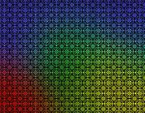 Rote grüne gelbe blaue geometrische Tapete Lizenzfreie Stockfotos