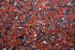 Rote Granitprobe Stockfotos