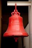 Rote große Glocke lizenzfreie stockfotos