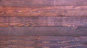 Rote hölzerne Beschaffenheit Dunkle alte Holzverkleidungen des Hintergrundes Lizenzfreies Stockfoto