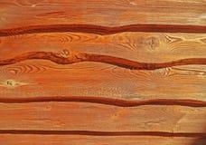 Rote hölzerne Planken Lizenzfreie Stockfotos