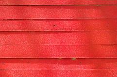 Rote hölzerne Wand Lizenzfreies Stockbild