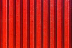 Rote hölzerne Wand Stockfoto