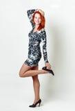Rote Haarüblichefrauen stockfoto
