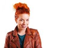 Rote Haar-Schönheit Stockbilder