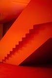 Rote Halle Stockbild