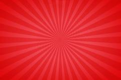 Rote helle Töne in einem Spaß Starburst Stockfoto