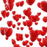 Rote Herzen Lizenzfreie Stockbilder