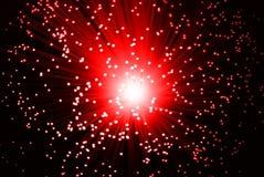 Rote Hintergrundleuchten. stock abbildung