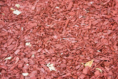 Rote Holzspanbeschaffenheit Stockbild