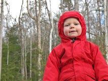 Rote Jacke lizenzfreie stockbilder
