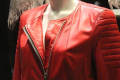 Rote Jacke Stockfoto