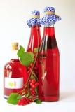 Rote Johannisbeerwein lizenzfreie stockfotografie