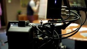 ROTE Kamera gebräuchlich stock video footage