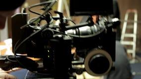 ROTE Kamera gebräuchlich stock video