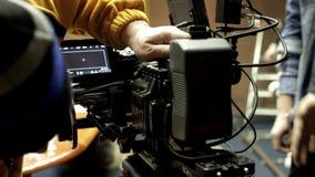 ROTE Kamera gebräuchlich stock footage