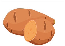 rote Kartoffel vektor abbildung