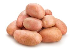 Rote Kartoffeln stockbilder
