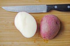 Rote Kartoffeln Lizenzfreie Stockbilder