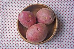 Rote Kartoffeln Lizenzfreie Stockfotografie