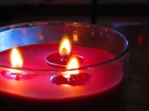 Rote Kerze Stockbilder