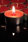 Rote Kerze Lizenzfreie Stockfotografie