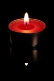 Rote Kerze Stockbild