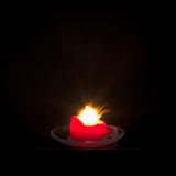 Rote Kerze Stockfotos