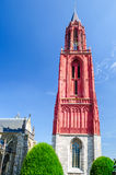 Rote Kirche in Maastricht stockfotos