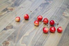 Rote Kirschen Stockfotos