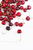 Rote Kirschen Stockbild