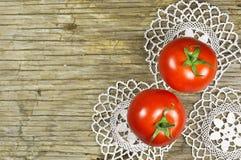 Rote Kirschtomaten lizenzfreies stockbild