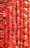 Rote Korallen Stockfotos