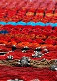 Rote Korne Stockbild