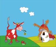rote Kuh Lizenzfreie Stockbilder