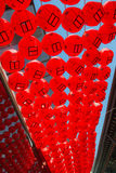 Rote Laterne Lizenzfreie Stockfotos