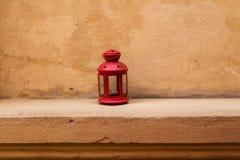 Rote Laterne Stockfotografie