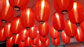 Rote Laterne für Feier des Chinesischen Neujahrsfests Lizenzfreies Stockbild