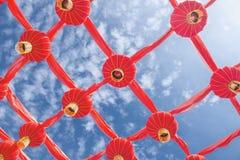 Rote Laternen Stockbild