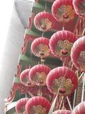 Rote Laternen in Chinatown lizenzfreies stockbild