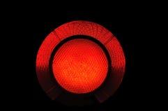 Rote Leuchte Stockfotografie