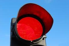 Rote Leuchte Stockfoto