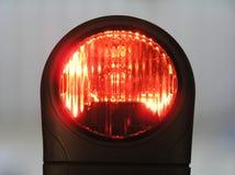 Rote Leuchte Lizenzfreie Stockfotografie
