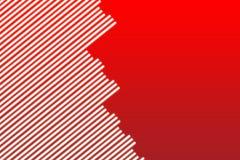 Rote Leuchte-Hintergrund Stockbild