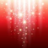 Rote Leuchten Stockfotos