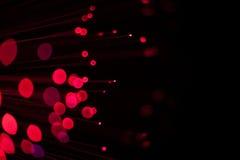Rote Leuchten Lizenzfreies Stockbild